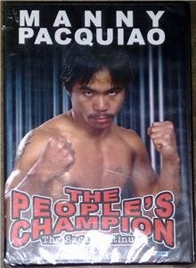 MANNY PACQUIAO The People's Champion DVD BRAND NEW!