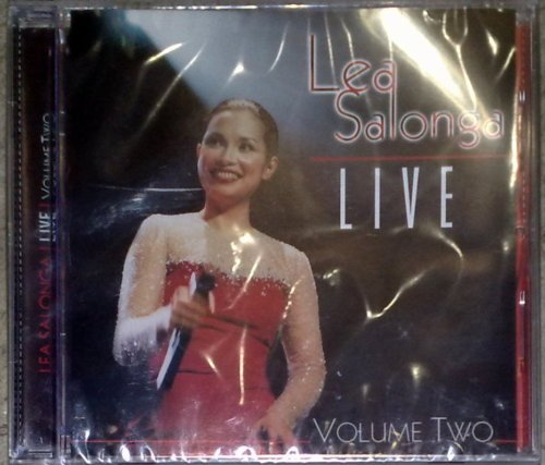 LEA SALONGA Live Volume 2 CD BRAND NEW SEALED