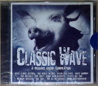 CLASSIC WAVE A Beggar's Group Compilation CD New Wave