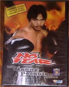 THE MANNY PACQUIAO STORY No Fear DVD BRAND NEW!