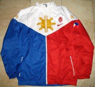 MANNY PACQUIAO Flag Jacket vs Hatton sz M BRAND NEW
