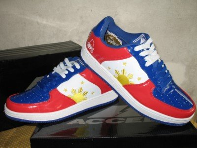 MANNY PACQUIAO Pinoy Pride Shoes sz 9 10 11 12 NEW!