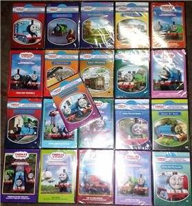 THOMAS & FRIENDS Lot of 21 DVD 110 Episodes! NEW!