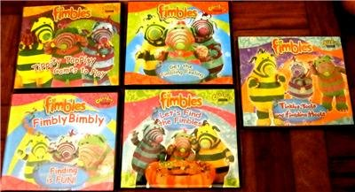 FIMBLES VCD DVD Set of 5 Brand New and Sealed