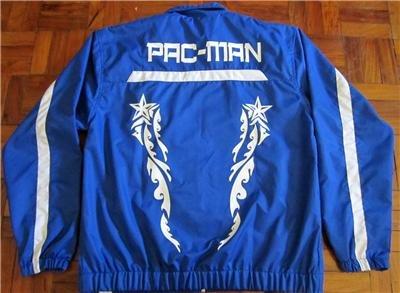 MANNY PACQUIAO Blu Official Training Jacket sz XL 2XL