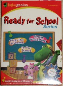 BABY GENIUS Ready For School DVD Boxed Set BRAND NEW