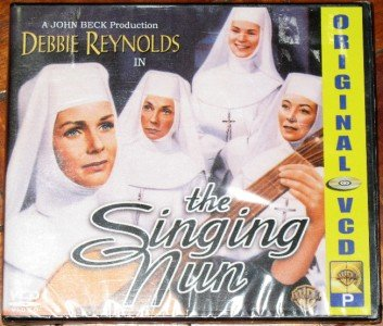 THE SINGING NUN VCD/DVD Debbie Reynolds Brand new