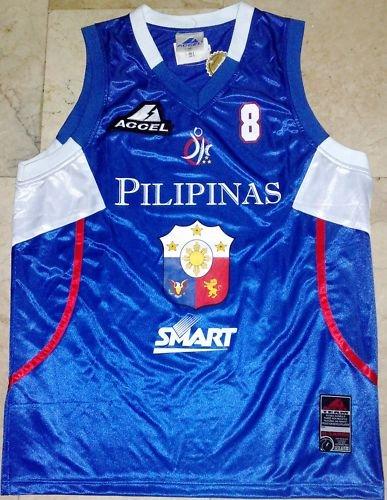 TEAM PILIPINAS Gilas Jersey Chris Tiu sz XL BRAND NEW!
