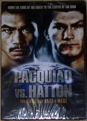 MANNY PACQUIAO vs RICKY HATTON DVD Battle of East West