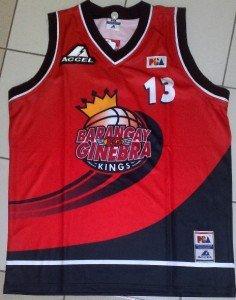 BARANGAY GINEBRA Jayjay Helterbrand PBA Jersey #13 XL
