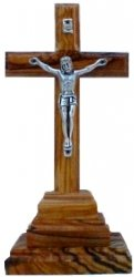 Crucifix on Pedestal