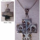Alpha and Omega cross with Marcasites