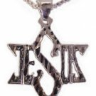 Large Jesus and Star of David Necklace