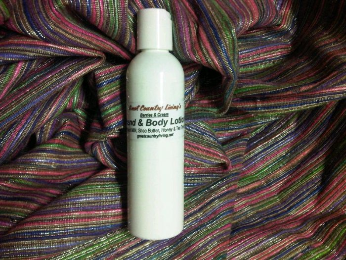 Hand & Body Lotion *Coconut Lime Verbenia Scent*