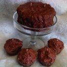 Chocolate Cupcake Candle