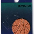 Basket ball Embroidered Applique Patches