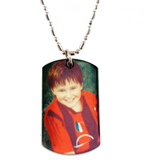 Personalized Dog Tag Pendant