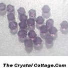 (20) Swarovski 4mm Bicone Crystal Beads~ Lilac~