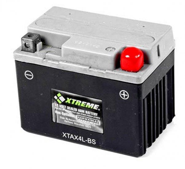 XTAX4L-BS Xtreme AGM Powersport Battery