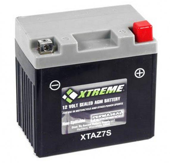 XTAZ7S Xtreme AGM Powersport Battery