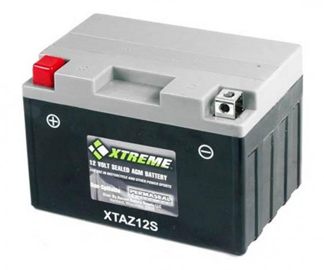 XTAZ12S Xtreme AGM Powersport Battery