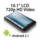 10.2 inch Android 2.2 Tablet PC Zenithink zt180 1GHz 4GB HDD 512mb ram WIFI cheap epad moneybookers
