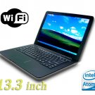 13.3' inch Notebook 1.66GHz Intel N280 Windows XP 160GB HDD 1GB Ram air netbook laptop not macbook