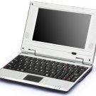 "7"" Mini Netbook for kids EasyPC 2GB HDD 128mb ram, cheap laptop, perfect gift for children, computer"