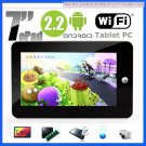 7&quot; VIA 8650 Android 2.2 Tablet PC Touchpad WIFI, 3G, Camera, 256mb ram 2gb hdd cheapest