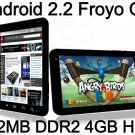 10.2&quot; Android 2.2 Froyo Tablet PC Dawa D9 Freescale Cortex A8 1GHz 512MB RAM 4GB HDD cam WIFI 3G MID
