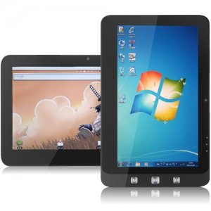 "10"" Dual OS Tablet PC Windows 7 + Android 2.2, 1.6Ghz, 1Gb ram 16gb SSD 3G ViewPad 10 Pineview cheap"