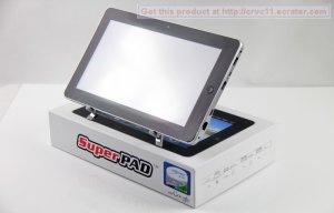 "10"" Android 2.3 Tablet PC Flytouch 3 INFOTMIC 1GHz 512mb ram 4gb HDD wifi camera HDMI GPS Superpad"