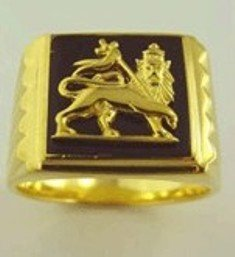 Lion of Judah Ring Gold