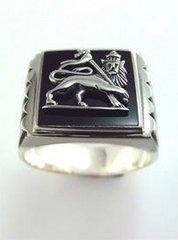 Lion of Judah Ring Silver