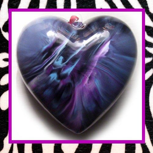 Purple, Black, Turquoise