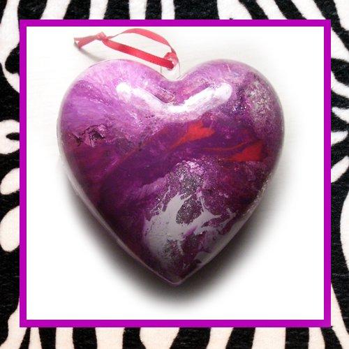Purple, White, & Red w/Glitter