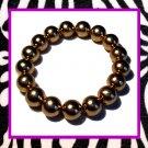 Gold Ball Bracelet (1/2 inch)