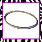 Silver Slim Bracelet (1/8 inch)