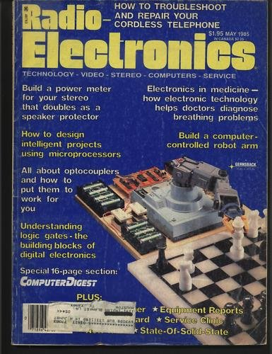 Radio Electronics May 1985 Technology Video Stereo