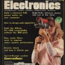 Radio Electronics August 1985 Technology Video Stereo