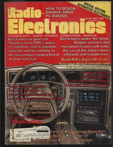 Radio Electronics Sept 1985 Technology Video Stereo