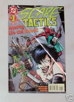 Scare Tactics No. 1 December 1996 DC Comics