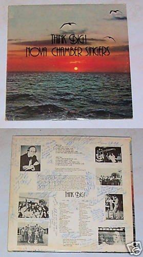 Think Big! Nova Chamber Singers Album Record LP 33