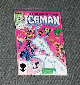 Iceman  Vol. 1 No. 3 April 1985