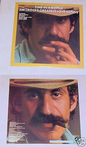 Jim Croce Time In A Bottle Music Album Record LP 33