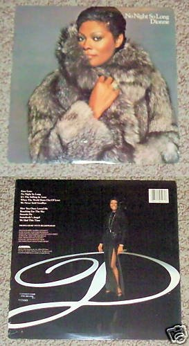 Dionne No Night So Long Music Album Record LP 33
