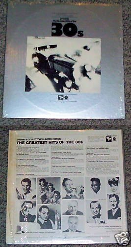 Plaza House Greatest Hits 30's Music Album Record LP 33