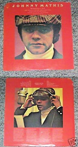Johnny Mathis What'll I Do Music Album Record LP 33