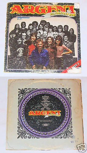 Argent   All Together Now   Album Record LP 33