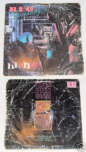 Reo Speedwagon  Hi Infidelity   Album Record LP 33